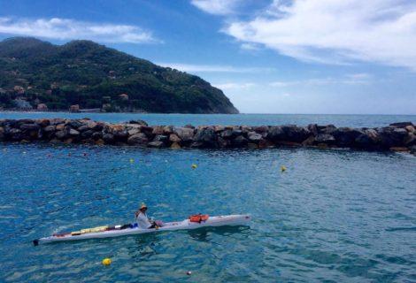 L'avventura di Marco Musicò: in canoa da Genova a Palermo