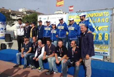 Coastal Rowing: Tricolori a Lignano, un bronzo alla Canottieri Palermo